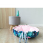 okrągłe legowisko dla psa i kota - Tropic Lauren design 2