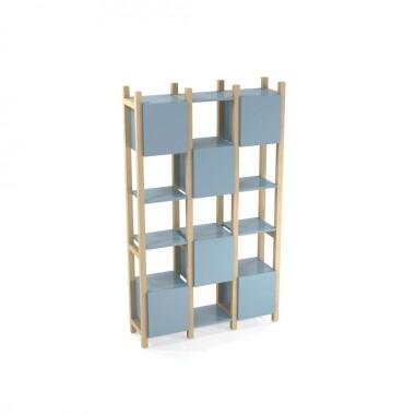 reg-simpl1-color-kolorowe-drewniane-regaly-dwustronne