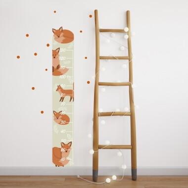 rude liski miarka wzrostu samoprzylepna