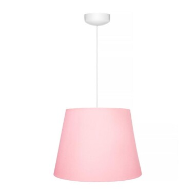 Oryginalna lampa wisząca z kolekcji CLASSIC PINK to pomysł na główne oświetlenie do dziecięcego pokoju.