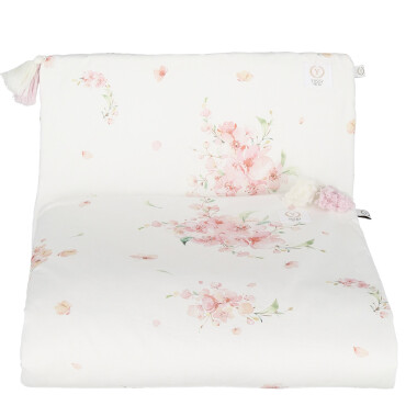 Pościel z chwostami 100% bawełna organiczna JAPANESE FLOWERS