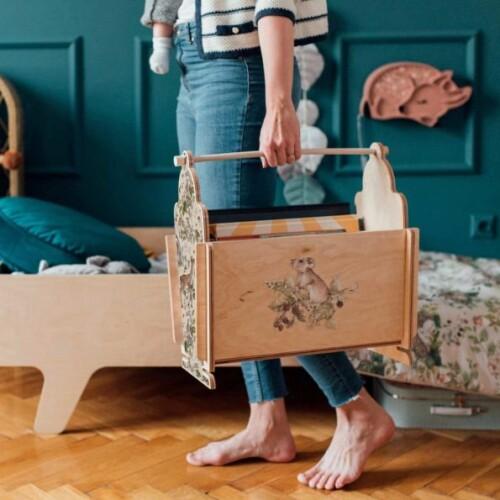 Koszyk-organizer,pojemnik na zabawki do pokoju dziecka