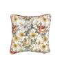 Poduszka dekoracyjna w kwiaty-