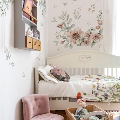 Kwiaty/ liście do pokoju dziecka