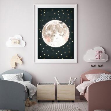 Księżyc tło