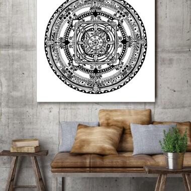 Mandala biała