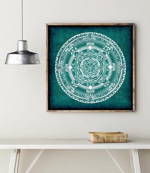 Mandala turkus