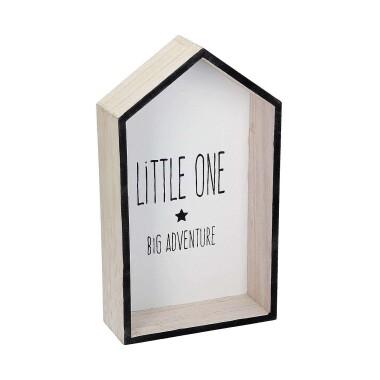 Drewniana półka do pokoju dziecięcego w kształcie domku - Półka Wooden Rabbit