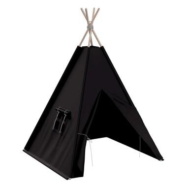Tipi - teepee - namiot dla dzieci , najlepsze miejsce do zabawy w pokoju dziecięcym. Kolor czarny.