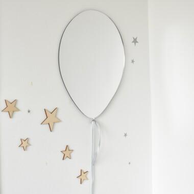 Dekoracja do pokoju dziecka- bezpieczne lustro w kształcie balonika