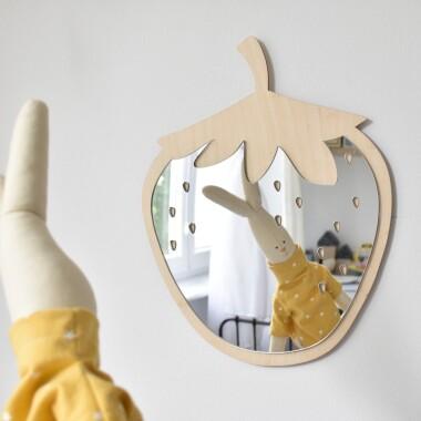 Lustro Dekoracyjne Dla Dzieci Truskawka