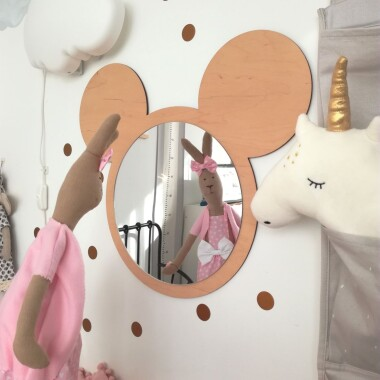 Lustro myszka Miki do pokoju dziecka