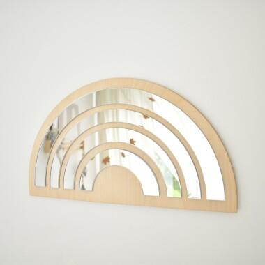 Bezpieczne lustro na ścianę akrylowe do pokoju dziecka.