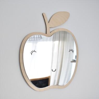 Lustro Dekoracyjne Dla Dzieci Jabłko
