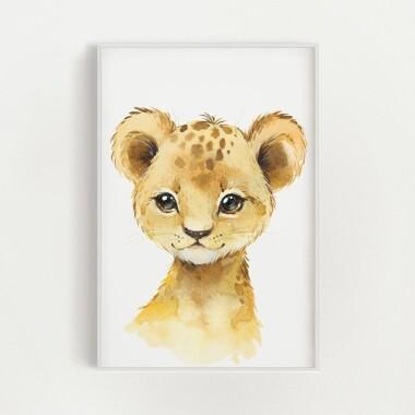 lwiatko-akwarela-plakat-dekoracyjny