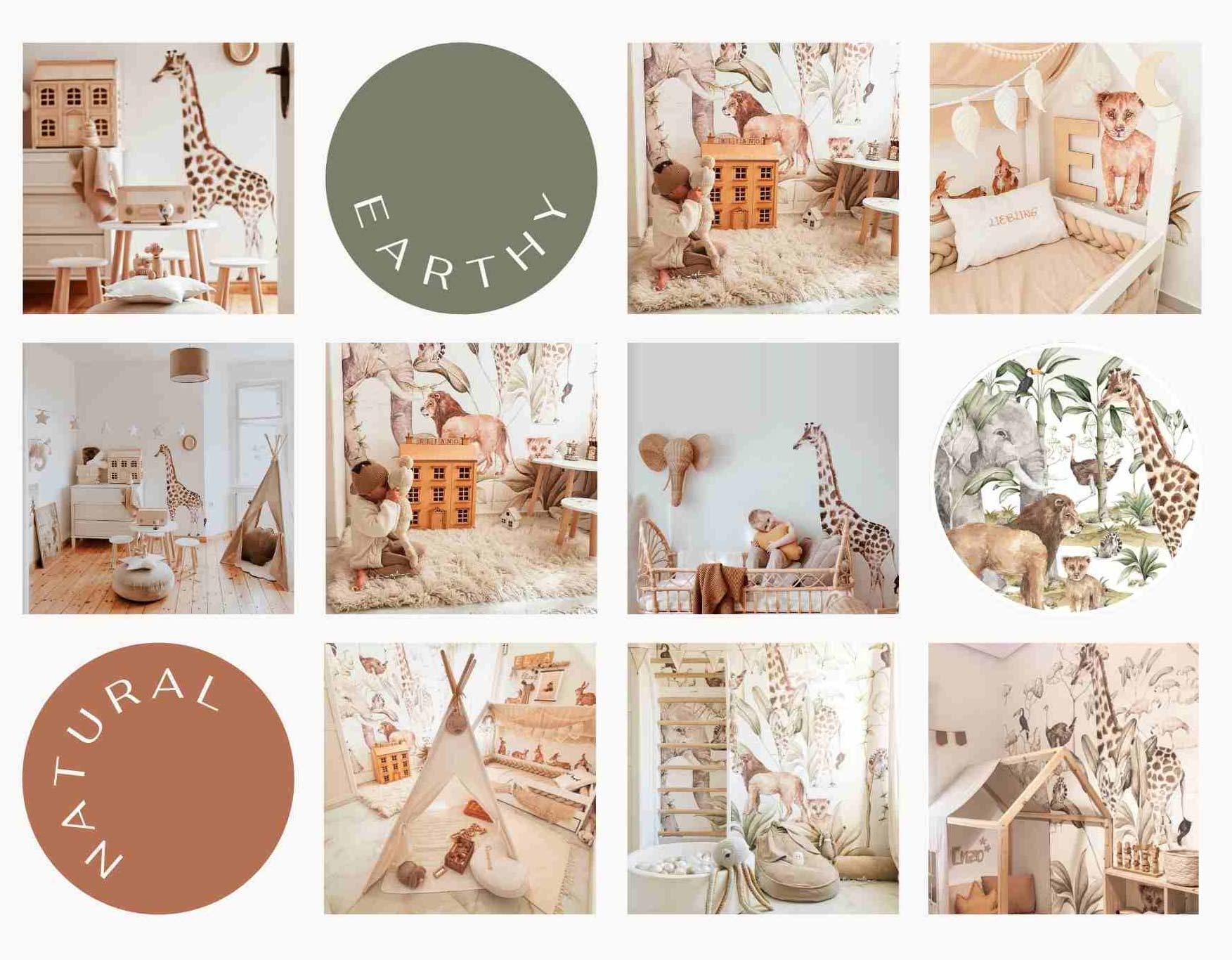 savanna-tapety-naklejki-do-pokoju-dzieciecego