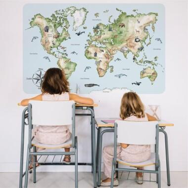 mapa-swiata-xl-naklejki-na-sciane-dla-dzieci