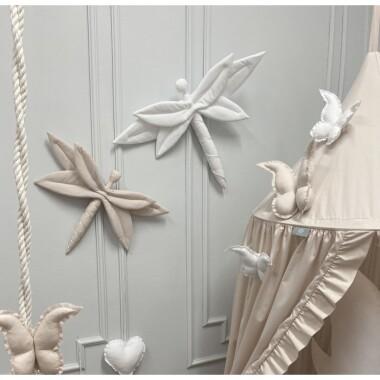 Ważka- ozdoba, dekoracja do pokoju dziecka-prezent dla dziewczynki