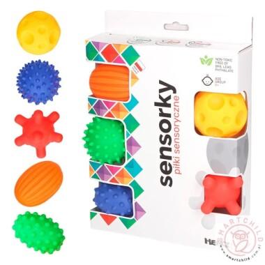 Miękki piłeczki sensoryczne - jeżyki do zabawy i stymulacji receptorów czuciowych dziecka już od pierwszych dni życia!