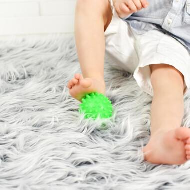 Zielona - Piłeczka sensoryczna jeżyk 1 szt