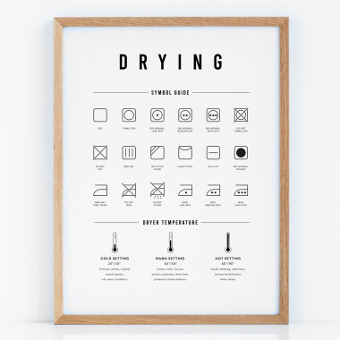 Plakat do pralni