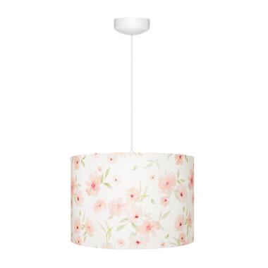Lampa wisząca w kwiaty do pokoju dziecka- żyrandol