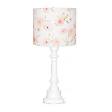 LAMPA DLA DZIEWCZYNKI W KWIATY BLOSSOM Lampka na stolik, szafkę