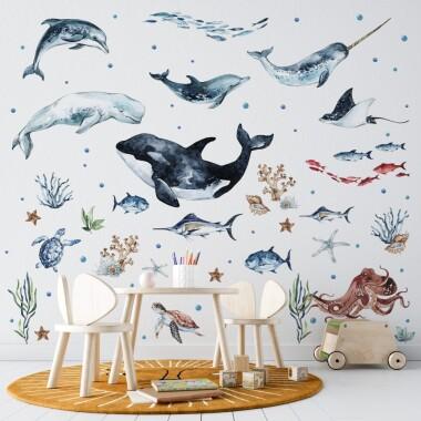 ocean-naklejki-na-sciane-dla-dzieci-wzor-5