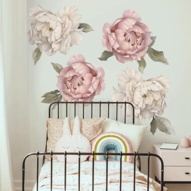 piwonie-watercolor-xxl-4-kwiaty-naklejki-na-sciane-naklejki-scienne-komplet-150x100cm