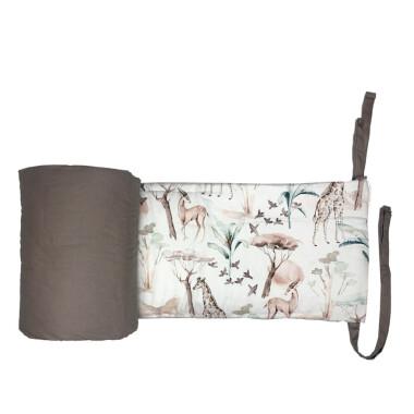 Safari – ochraniacz do łóżeczka 190×28 cm