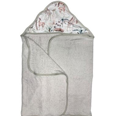 Safari – duży ręcznik kąpielowy 140×70 cm z kapturem