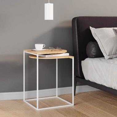 GAP minimalistyczny stolik nocny pomocnik