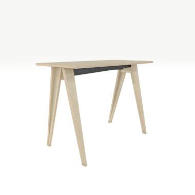 B-PIN1-PRO - minimalistyczne biurko ze sklejki