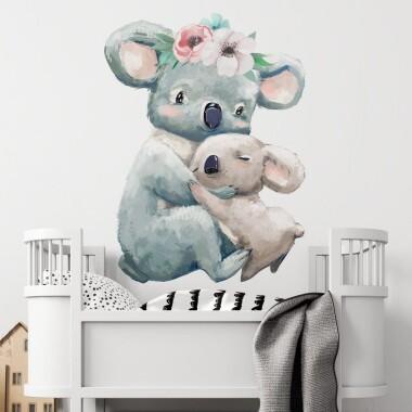 koala-z-mama-naklejki-na-sciane-naklejki-scienne