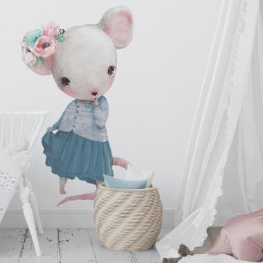 myszka-w-sukience-naklejki-na-sciane-naklejki-scienne