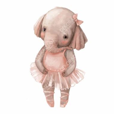 slonik-balerinka--naklejki-na-sciane-naklejki-scienne
