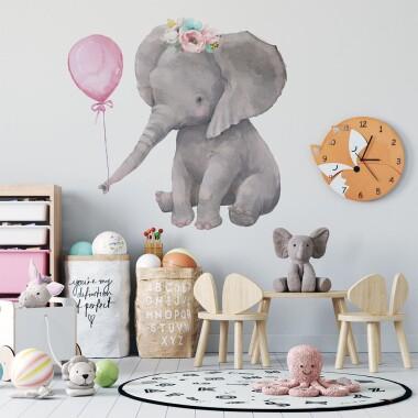 slonik-z-balonem-naklejki-na-sciane-naklejki-scienne